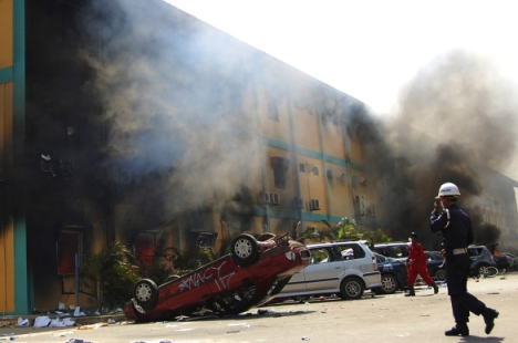 Batam Docks Riot
