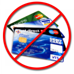 No Credit Cards