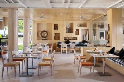 The dining and breakfast room at Bali Baruna Hotel