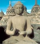 Borobudur Buddha No Hands