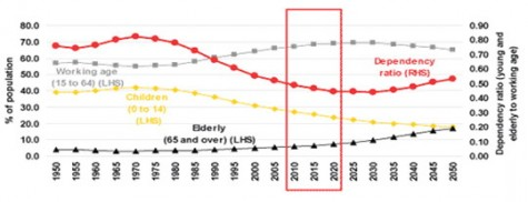 Graph: Indonesia's Demography