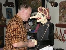 Duncan Graham in Indonesia
