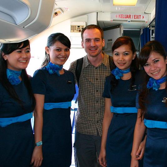 Pretty Express Air Stewardesses