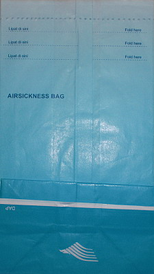 Garuda Barf Bag