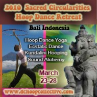 Hoop Dancing in Bali