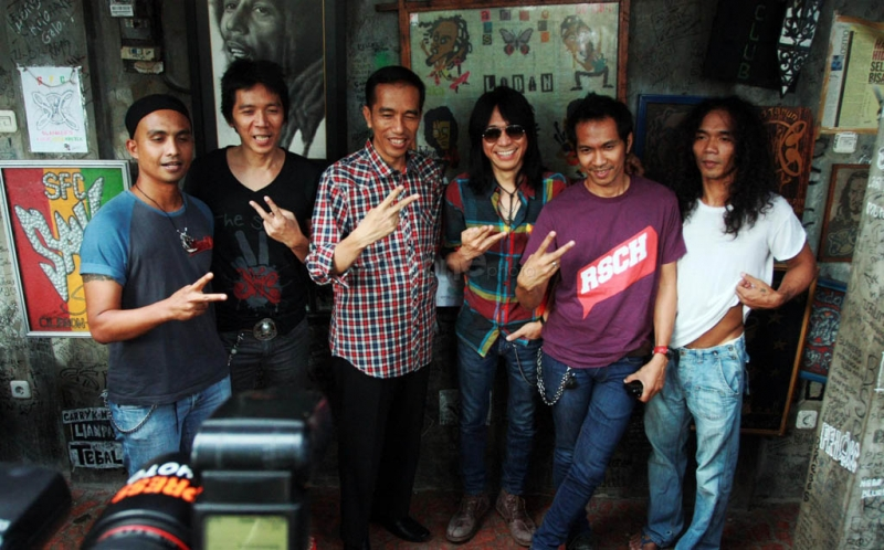 Joko Wibowo and Slank