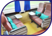 Train seating