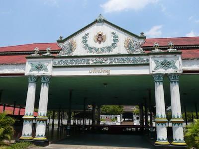 Amazing Race Pistop: Sultan's Temple, Yogyakarta