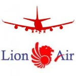 Lion Air logo with plane