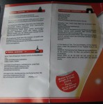 Lion Air Invocation Card Inside, Page 2