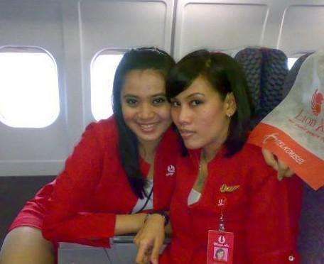 Lion Air hostesses