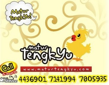 In Yogyakarta there is even a restaurant called Matur TengkYu, a play on the Javanese term for thank you, matur nuwun