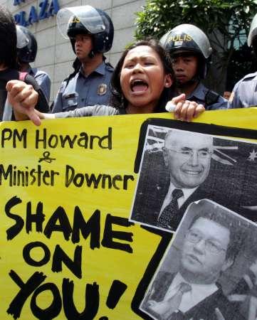 Indonesians Protest Against Australia