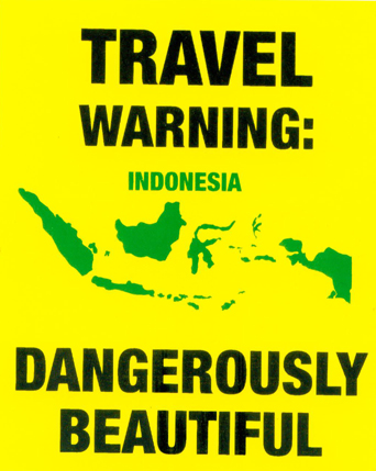 Travel Warning Indonesia
