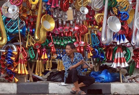 Trumpet Vendor, Jakarta