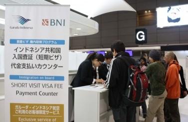 Narita Visa Queue