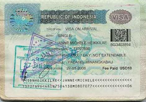 $10 Visa on Arrival